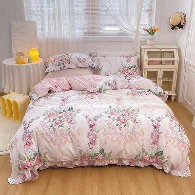 2021新款全棉韩版花卉床裙款四件套 1.5m床裙款四件套 花蔓